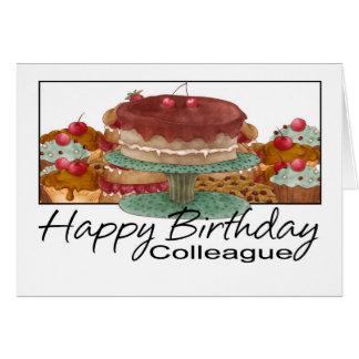 Tarjeta de cumpleaños - colega - tarjeta de cumple