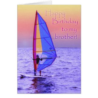 Tarjeta de cumpleaños de Brother