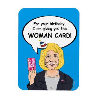 Tarjeta de cumpleaños de Hillary Clinton - para su Iman