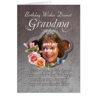 tarjeta de cumpleaños de la abuela - cumpleaños su
