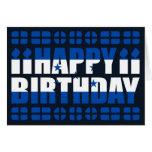 Tarjeta de cumpleaños de la bandera de Honduras