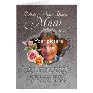tarjeta de cumpleaños de la mamá - cumpleaños su f
