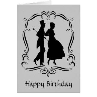 Tarjeta de cumpleaños de la mujer del hombre de la