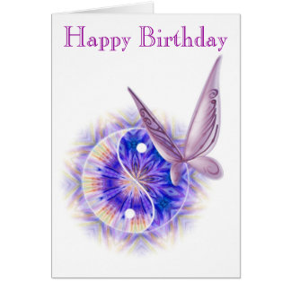 Tarjeta de cumpleaños de la terapia del masaje