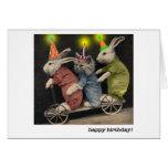 tarjeta de cumpleaños de la vespa