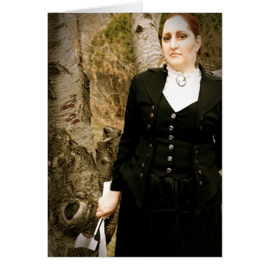 Tarjeta de cumpleaños de Lizzie Borden