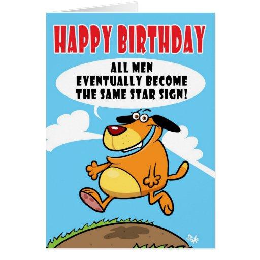 Tarjeta de cumpleaños de SAGGYHAIRYARSE