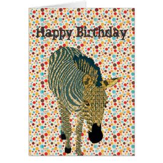 Tarjeta   de cumpleaños de Zeb