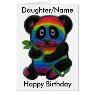 Tarjeta de cumpleaños del amigo de la sobrina de