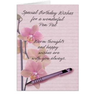 Tarjeta de cumpleaños del amigo por