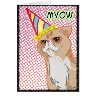 Tarjeta de cumpleaños del gato 2