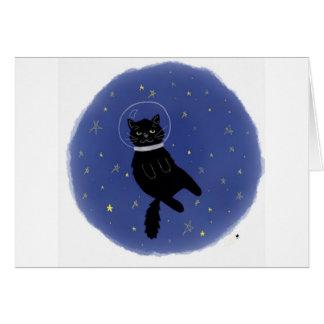 Tarjeta de cumpleaños del gato de Cosmo