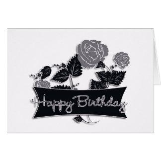 Tarjeta de cumpleaños del negocio, cumpleaños ejec