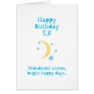 Tarjeta de cumpleaños del sobrino