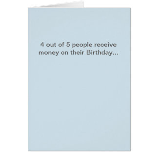 Tarjeta de cumpleaños divertida