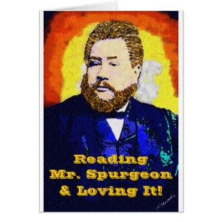 Tarjeta de cumpleaños esencial de Spurgeon