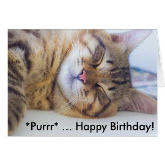 Tarjeta de cumpleaños: ¡Feliz cumpleaños del