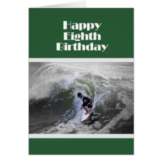 Tarjeta de cumpleaños feliz de la persona que