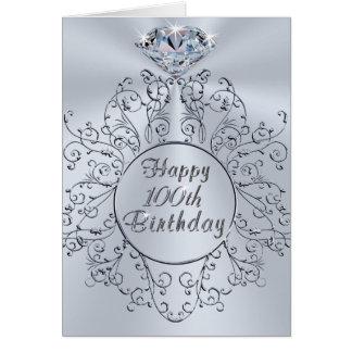 Tarjeta de cumpleaños feliz del diseño del