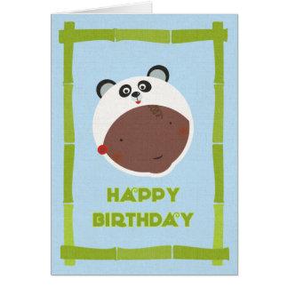 Tarjeta de cumpleaños multicultural