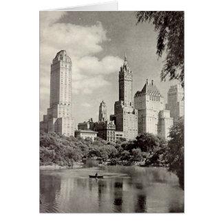Tarjeta de cumpleaños, New York City, Central Park