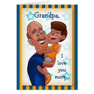 Tarjeta de cumpleaños para el abuelo