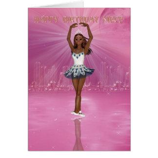 Tarjeta de cumpleaños para el bailarín de ballet d
