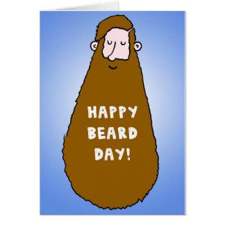 Tarjeta de cumpleaños para las barbas