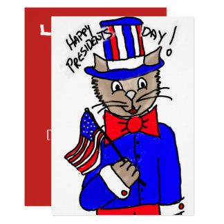 Tarjeta de Day Cat de presidente Invitación 12,7 X 17,8 Cm