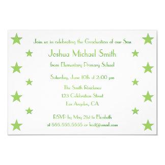 Tarjeta de encargo de la invitación de la fiesta invitación 8,9 x 12,7 cm