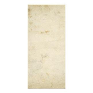 Tarjeta de encargo de papel envejecida antigüedad