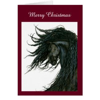 Tarjeta de encargo del caballo de DreamWalker por