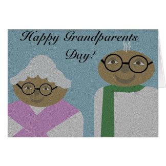 Tarjeta de encargo del día de los abuelos de