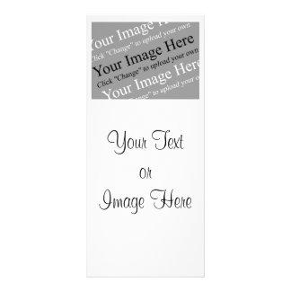 Tarjeta de encargo del estante de la imagen y del  lona