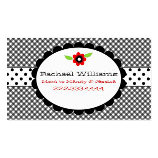 Tarjeta de encargo negra y blanca demasiado linda  tarjeta de negocio
