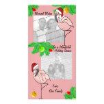 Tarjeta de felicitación alegre de la foto de los f tarjeta fotografica personalizada