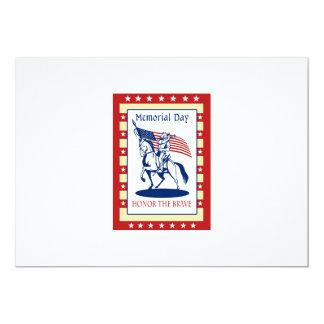 Tarjeta de felicitación americana del poster del invitación 12,7 x 17,8 cm