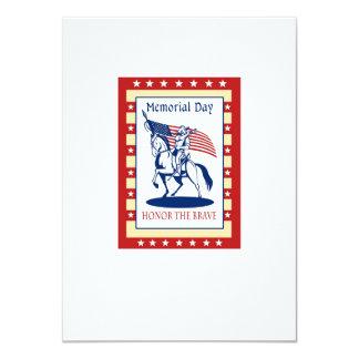 Tarjeta de felicitación americana del poster del invitación 11,4 x 15,8 cm