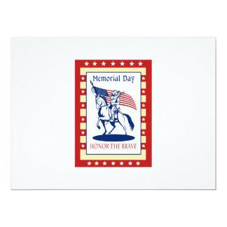 Tarjeta de felicitación americana del poster del invitación 16,5 x 22,2 cm