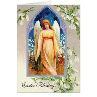 Tarjeta de felicitación: Bendiciones de Pascua