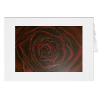Tarjeta de felicitación - color de rosa