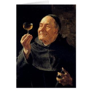 Tarjeta de felicitación con la pintura de Eduard G