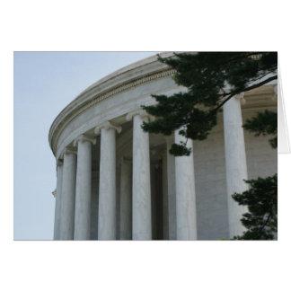 Tarjeta de felicitación conmemorativa de los pilar