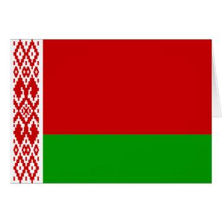 tarjeta de felicitación de Bielorrusia