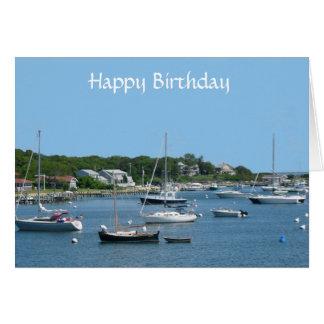 Tarjeta de felicitación de Cape Cod mA del feliz