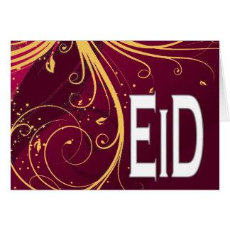 Tarjeta de felicitación de Eid