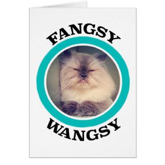Tarjeta de felicitación de Fangsy