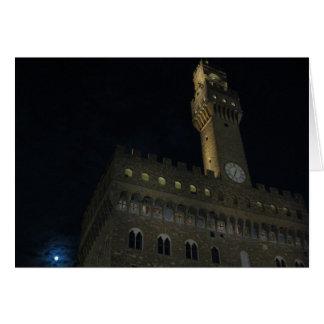 Tarjeta de felicitación de Florencia, Italia