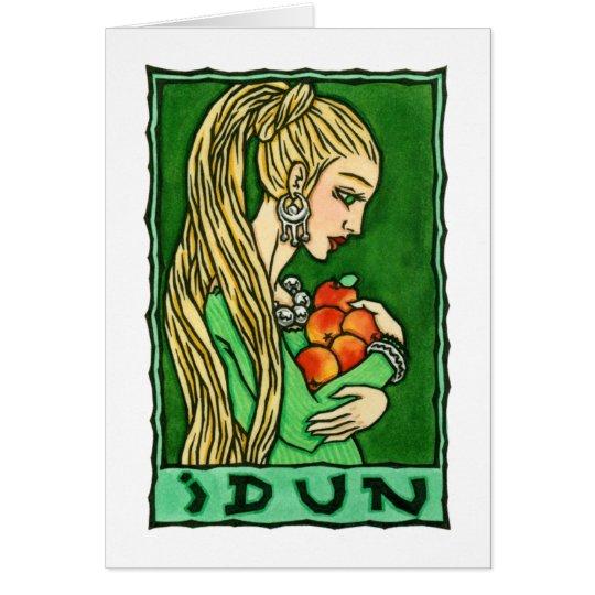 Tarjeta de felicitación de Idun