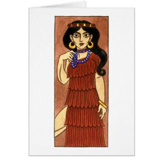 Tarjeta de felicitación de Inanna